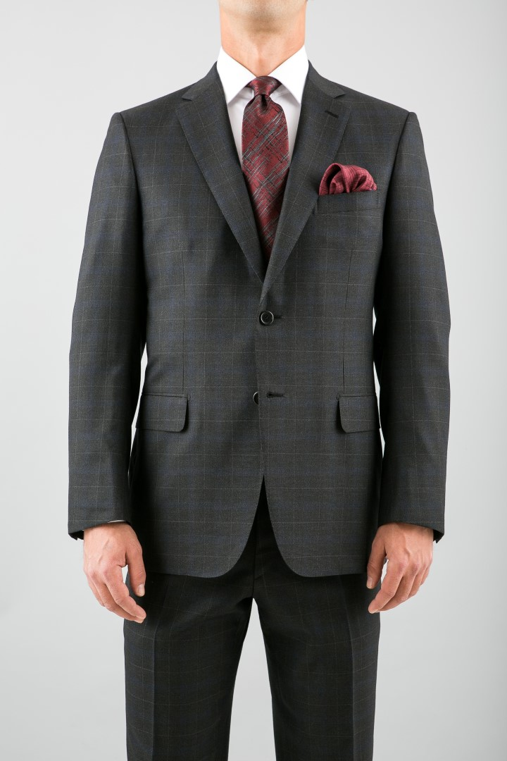 SUIT BRIONI, SHIRT BRIONI, TIE SET VITALIANO